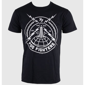Herren T-Shirt Foo Fighters - Black Strike - LIVE NATION - RTFFI052