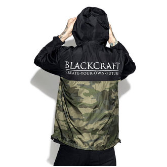 Unisex Jacke Frühling/Herbst - Staple Black on Camo - BLACK CRAFT, BLACK CRAFT