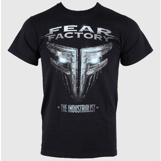Herren T-Shirt Fear Factory - The Industrialist - Black - ATMOSPHERE
