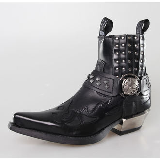 Schuhe NEW ROCK - 7950-S1 - ANTIK NEGRO
