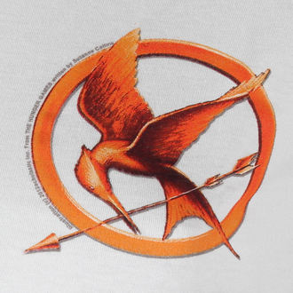 Damen T-Shirt  Hunger Games - Mocking Jay Pin - LIVE NATION - PE9613SKW