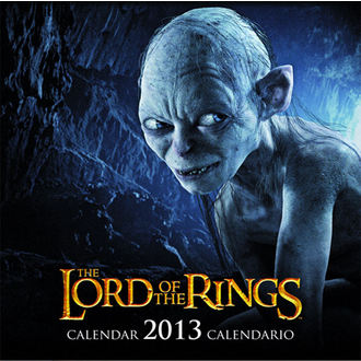 Kalender  das Jahr 2013 Lord of the rings - English & Spanish Version - SDTLTR02222