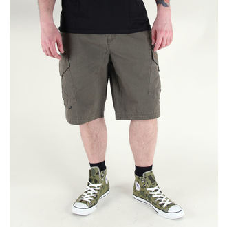 Männer Shorts FOX - Slambozo -SOLID - MILITARY