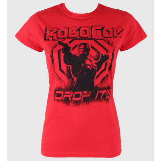 Damen T-Shirt  Robocop - Drop It - PLASTIC HEAD - PH7206