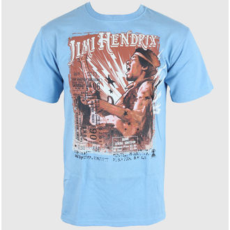 Herren T-Shirt Jimi Hendrix - Cry of Love Tour - LIQUID BLUE - 11637