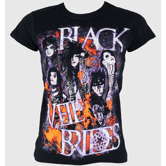 Damen T-Shirt  Black Veil Brides - Set On Fire - PLASTIC HEAD - PH5952