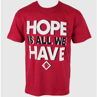 Herren T-Shirt Blackout - Hope Is All We Have - PLASTIC HEAD - PH5933