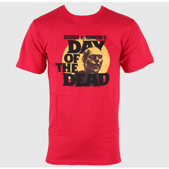Herren T-Shirt Day of the Dead - Circle Portrait - Red - IMPACT - DOD06