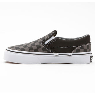 Schuhe VANS - Classic Slip-On - Black/Pewter Checkerboard