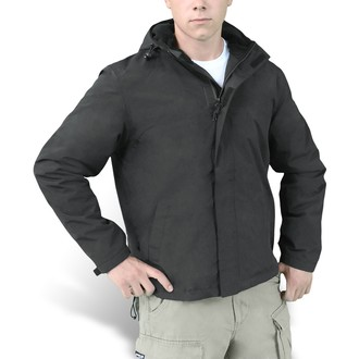 Herren Jacke (Windjacke) SURPLUS - Windbreaker - Black