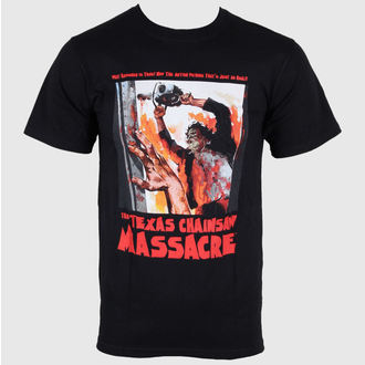 Herren T-Shirt Texas Chainsaw Massacre - What Happened is True! - Black - IMPACT - TCM02