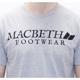 Herren T-Shirt MACBETH - Vintage Logo - Heather Grey Classic