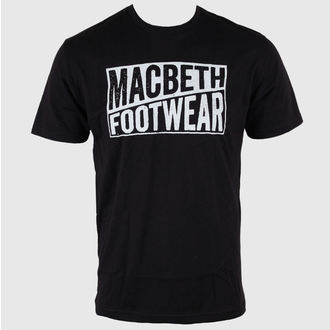 Herren T-Shirt MACBETH - Old Type - schwarz Classic