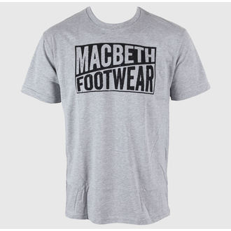 Herren T-Shirt MACBETH - Old Type - Heather Grey Classic
