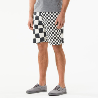 Swimwear (Shorts) Men VANS - Era Classic - Black/White/Che - VMES841