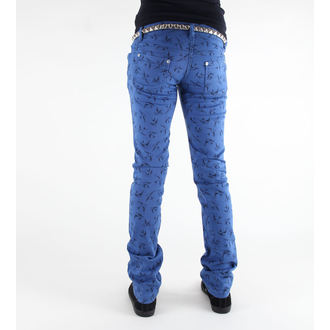 Damen Hose 3RDAND56th - Swallow Skinny Jeans - JM1118 - ROYAL