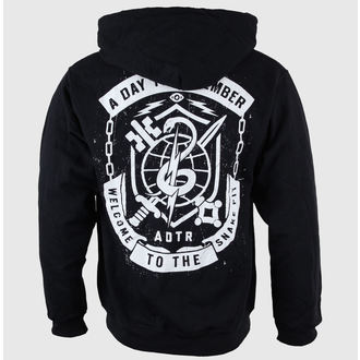 Herren Hoodie  A Day To Remember - Snake Pit Black - VICTORY