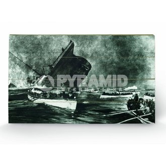 Holzbild Titanic (13) - Pyramid Posters - LW10159P
