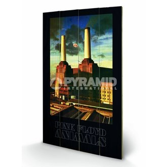 Holzbild Pink Floyd - Animals - Pyramid Posters - LW10344P