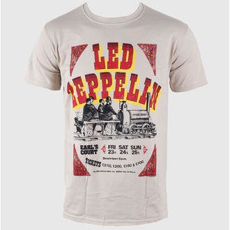 Herren T-Shirt Led Zeppelin - Earls Court Tickets - LIVE NATION - RTLZE0520