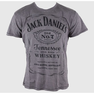 Herren T-Shirt Jack Daniels - Acid Washed - Bioworld - TS111080JDS