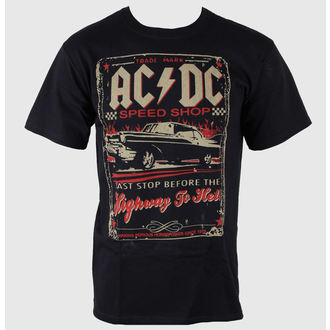 Herren T-Shirt AC/DC - Speedshop - LIQUID BLUE  - 31818
