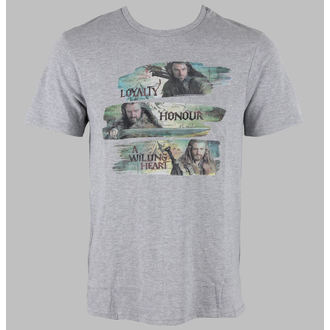 Herren T-Shirt The Hobbit - Characters - Grey - HOBTS-1205-GRISL