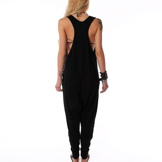 Damen Overall  IRON FIST - Loose Tooth Romper - Black