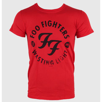 Herren T-Shirt Foo Fighters - Wasting Time Red - LIVE NATION - RTFFI0550