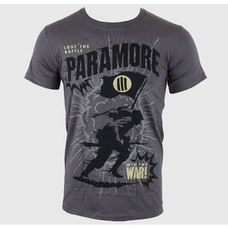 Herren T-Shirt Paramore - Minifield Charcoal - LIVE NATION - PE10200TSC