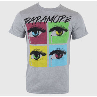 Herren T-Shirt Paramore - Pop Tear SportS Grey - LIVE NATION - PE10201TSC