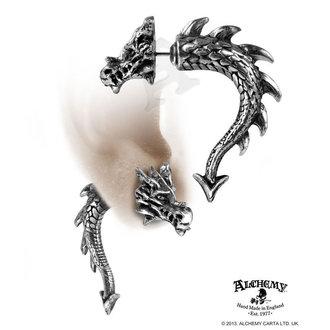 Ohrringee Tor Dragon - ALCHEMY GOTHIC - E324