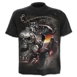 Herren T-Shirt SPIRAL - Death On Wheels - TR351600