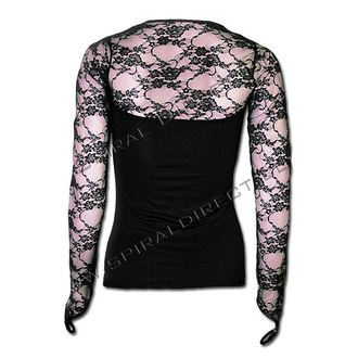 Longshirt Damen SPIRAL - Rose Reflections