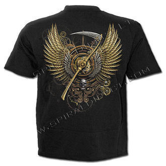 Herren T-Shirt SPIRAL - Steam Punk Reaper