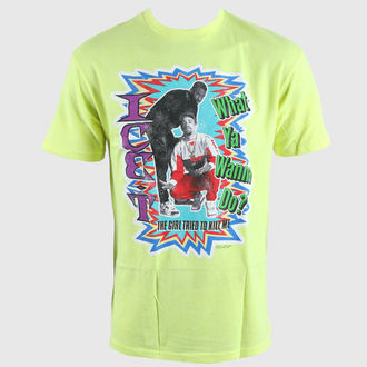 Herren T-Shirt AMPLIFIED - Ice T Gun - Neon Yellow - ZAV273ICK