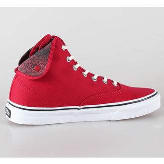 Schuhe VANS - U Authentic Hi 2 - (Snake) Chili pepper / true white