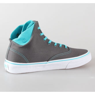 Schuhe VANS - U Authentic Hi 2 - pewter / tauchen blue