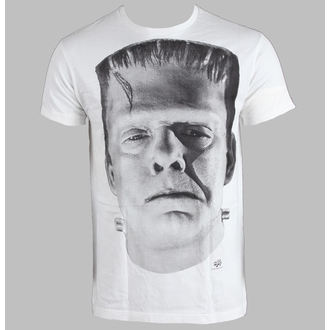 Herren T-Shirt Frankenstein - White - LIVE NATION - 10405