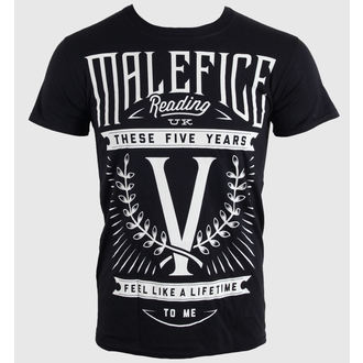 Herren T-Shirt Malefice - Five Years - LIVE NATION, LIVE NATION, Malefice