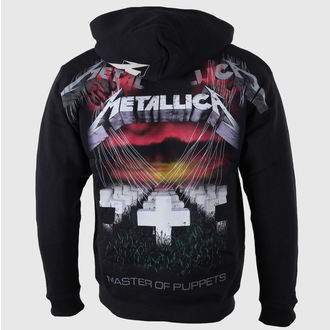 Herren Hoodie Metallica - Master of Puppets - Black - LIVE NATION - RTMTL03404
