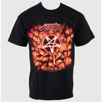 Herren T-Shirt Anthrax - Worship Music - EMI - ANTHTEE06MB