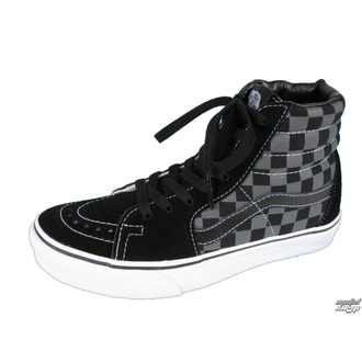 Schuhe VANS - Sk8-Hi - Black/Pewter Checkerboard