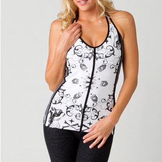 Top Damen METAL MULISHA - Bandanarama Halter - WHT
