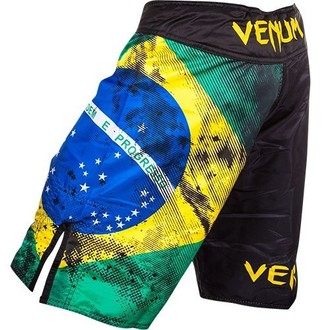 Boxershorts Shorts VENUM - Brazilian Flag - Black - 0081