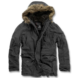 Winterjacke Men BRANDIT - Vintage Explorer Black