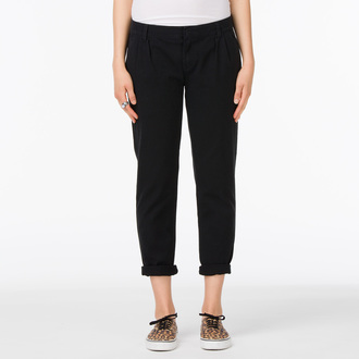 Damen Hose  VANS - G Pleated Chino - Black - VUJGBLK