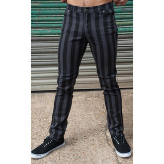 Herren Hose  3RDAND56th - Stripe Skinny - Blk/Grey - JM1105