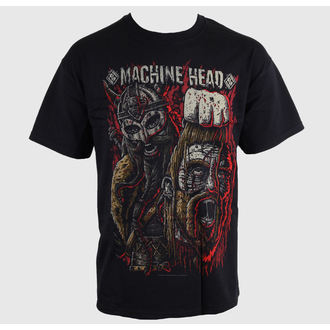 Herren T-Shirt Machine Head - Goliath Red - ROCK OFF - MAHTEE04MB