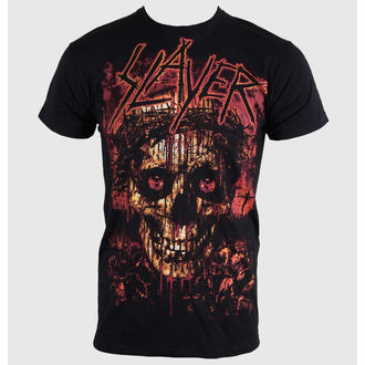 Herren T-Shirt Slayer - Crowned Skull - ROCK OFF - SLAYTEE11MB